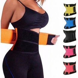 xtreme hot belt Australia - Waist Trainer Cincher Women Xtreme Thermo Power Hot Running Vest Body Shaper Girdle Belt Underbust Control Slimming 4qGs#