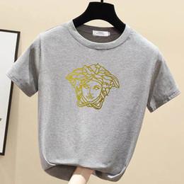 Wholesale personalize t shirt online – design women s Jessie Li new reflective smiling face T shirt men s loose crew neck personalized printed short sleeve T shirt