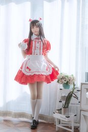 Wholesale plus size maid cosplay for sale - Group buy Plus size Formal black and white short sleeved maid cosplay adult clothing maid dress Princess dress dress