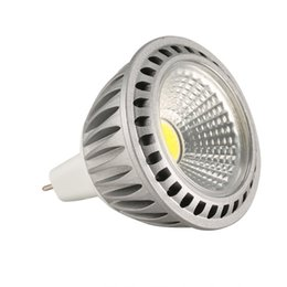 12v rohs led lights NZ - New LED MR16 3w 5w Cob Spotlight Warm Cool White MR16 12V Bulb Light 85-265V
