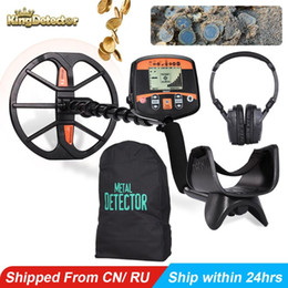 "underground searching gold NZ - TX-960 Professional Underground Metal Detector Pinpointer Gold Detector Treasure Scanner with 13"" Waterproof Search Coil"