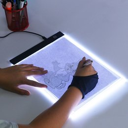 Wholesale Led Drawing Copy Pad Board for Baby Toys A5 Size Painting Educational Toys Creativity for Children 3 Level Dimmable