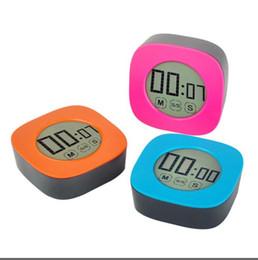 Venta al por mayor de Duración de la cocina de la pantalla táctil digital temporizador de cocina ajustable Alarma Electrónica cocinar los alimentos Herramientas Tiempo de recordatorio cocina Accesorios LSK664
