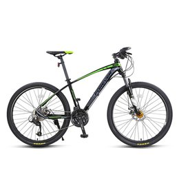 mountain alloys NZ - Mountain bike 27  variable speed 26-inch aluminum alloy frame for male and female students' adult bicycles with double discs and double disc