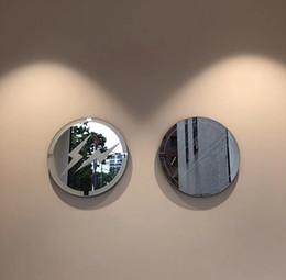 Ev Mobilyaları Trendy Orijinal 40 cm FWCO Yıldırım Logosu Ayna Dekoratif Ayna Duvar Dekorasyon Masaüstü Mobilya Sınırlı Koleksiyon