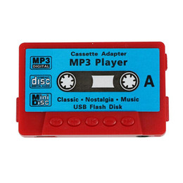 card mp3 player kids 2020 - Tape Shape Gift MP3 Player TF Card Cute Retro Mini Rechargeable Portable Multifunctional Sports Radio USB Port Kids chea