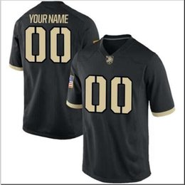 jerseys toddler NZ - CUSTOM Men,Youth,women,toddler, Army Black Knights Personalized ANY NAME AND NUMBER ANY SIZE Stitched Top Quality College jersey
