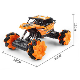 off road vehicle lighting NZ - Kids Light Remote Vehicle 360 Cars Electric Control 07 Climbing 2.4GR C With Cool Model Off-Road Rotation Toys Drift Boys Gift Four-whe Gklq
