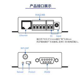 Freeshipping Serial Server RS232   485 422 to Wifi Ethernet Rtu Networking Communication Equipment HF221
