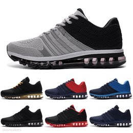 Discount mens gym training shoes Men KPU 2017 Cushion Sports Running Shoes mens Breathable mesh Outdoor Chaussures Zapatos Gym Training Sneakers Size US