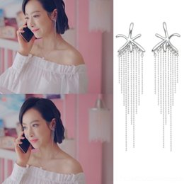 Wholesale animals song online – design Next stop is happy he Fanxing Song Qian and of smart same style high end elves the temperament tassel earrings women s earrings As6ep