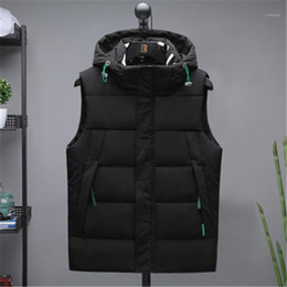 Wholesale khaki waistcoat mens for sale - Group buy CAasual Coats Designer Male New Zipper Slim Solid Color Outerwear Mens Waistcoat Sleeveless Vests Fashion Trend Stand Collar Hooded