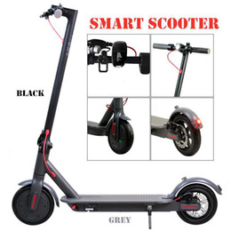 Wholesale Stock Electric Scooter 250W Folding Kick Bike Bicycle Scooters For Adult 36V With LED Display High Speed Off Road MK083