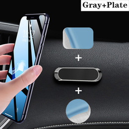 Wholesale holder cellphone resale online - Universal Car Cellphone Holder Dashboard Magnet Phone Stand Steering Wheel Mount For All Kinds Of Phone