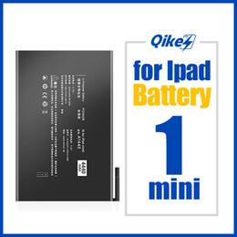 qikes A1445 Pil için iPad Mini 1 A1432 A1454 A1455 Mini1 Yedek Tablet Pil Gerçek Kapasitesi 4440mAh Bateria