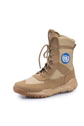 2020 ZYF Fashionable New Hot Sale Safe Army Male Combat Tactical Desert Boots Winter Outdoor Hiking Boots Tactical Duty Shoes OD0005 on Sale