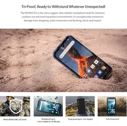 rugged android smartphone Australia - Blackview BV9900 Pro Thermal Camera Mobile Phone 8GB+128GB Helio P90 Octa Core Smartphone 48MP Quad Camera IP68 Rugged phone