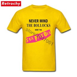Yellow UK Sex Pistols Never Mind The Bollocks Shirt for Men Crazy Graphic Rock Band Shirts Short Sleeve O Neck T Shirts Merch 200924