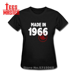 black gold parts 2020 - Made in 1966 All Original Parts Design woman gift T-SHIRT Cool Casual pride t shirt female Unisex Newest Fashion tshirt