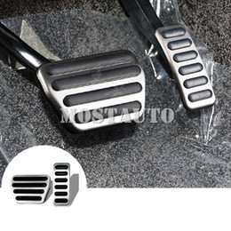 pedals brake gas NZ - For Land Rover Range Rover Sport AT Foot Pedal Gas Fuel Brake Pedal 2014-2019 2pcs