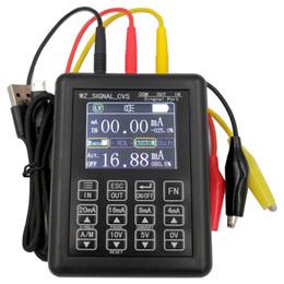 Proceso de precisión 0-5 4-20 mA 0-10 Generador de señales portátil de la señal de control Fuente de corriente constante Fuente 0-20 Simulador en venta