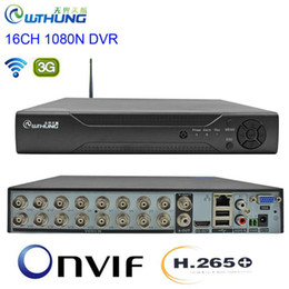 Опт CCTV DVR H.265 + 16CH 1080N 6 в 1 Видеорегистратор Гибридный WiFi 3G XMEYE P2P облако HDMI для 1080P AHD Tvi CVI Аналоговое Ip камеры