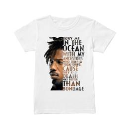 Wholesale oceans sleeves shirt for sale – custom Brand Erik Killmonger Bury Me In The Ocean With My Ancestors Shirt Summer Men Short Sleeve T Shirt