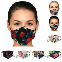 Wholesale Washable Mascarilla Breathing Earloops Respirator Printing Face Mask Good Looking Sunscreen Wear Resistance Pretty Hot Sale 4 5xxa E2