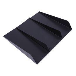 Winsun ABS Универсальная нижняя задняя часть тела бампера диффузор для губ четыре плавника черный на Распродаже