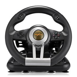 pedal for pc Australia - Pxn V3ii Racing Game Steering Wheel Usb Vibration Dual Motor Foldable Pedal Game Controller For Pc Ps3 Ps4 Xbox One Pxn -V3ii T191227