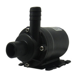 12v dc watering pump UK - DC 12V Ultra Quiet Brushless Motor 800L H Mini 5.5m Home Water Pump Submersible