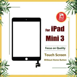 apple ipad touch tablet UK - For Ipad Mini 3 Front Screen Digitizer Glass Replacement With Ic Adhesive Full Assembly Without Home Button Touchscreen Touch Panel