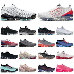 Fly 2.0 Knit 3Sneakers.Mens Running Shoes Triple Black White Volt Cinder MOC Dusty Cactus Womens Trainers Vapours Cushion Sports on Sale
