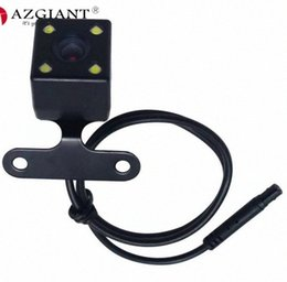 car rear camera lens UK - 5pin 4LED Driving recorder reversing rear view car line camera image digital analog lens DVR with 6M extension cable bXa3#