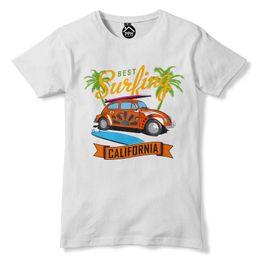 Wholesale van top online – design T Shirt Summer Tee Shirt Homme Car Van California Cali Tshirt Usa Rad Surfer Mens Top Waxt Shirt Design Website