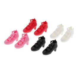 Discount bjd doll shoes 2.8cm Cute 4 Colors Shoes for 1 6 bjd Doll 12 inch Doll