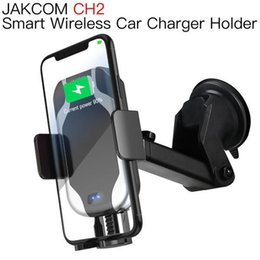 Wholesale tv cell phone holder resale online - JAKCOM CH2 Smart Wireless Car Charger Mount Holder Hot Sale in Cell Phone Mounts Holders as mi a1 android tv box phone