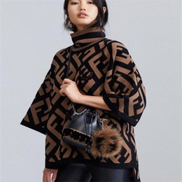 Wholesale women winter clothes printed for sale – custom 2020 women sweaters pulloverLetter cashmere sweaters Autumn And Winter Quality Knitting Blouses Sweater woman designer luxury clothes
