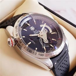 Ünlü Mekanik Otomatik Saatler Sertifikalı Kronometre TAG Büyük Carrera CAUBRE 36 takeometre relógios de luxo Hediye 47mm swiss Yapımı Relog