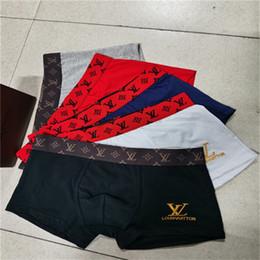 Wholesale xl bulge underwear men for sale - Group buy Underpants New Shorts Bulge Pouch Mens Striped Breathe Underwear Comfortable Men Pouch Cotton Underpants