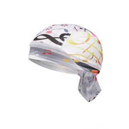 bicycle pirate headscarf NZ - XINTOWN guitar pirate Outdoor bicycle hat riding outdoor sports pirate headscarf mountain road bicycle sports hat