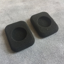 foam covers for headphones Canada - arphone Accessories Ear pads For Headphones FORM 2 2i Square Foam Eartips Thicken Ear Pad Earbud sponge Covers Headphone Replacement acce...