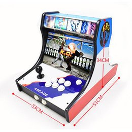 video games consoles Canada - Cgjxs Wifi Version Pandora Box 9 9d 3d Arcade Video Game Console 1500 In 1 2500 In 1 2448 In 1 Customized 14 Inch Bartop Arcade Machine Free