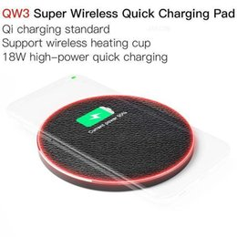 super electronics UK - JAKCOM QW3 Super Wireless Quick Charging Pad New Cell Phone Chargers as wedding favor white vig electronic cigarettes