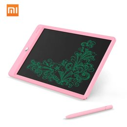 xiaomi 10 inch tablet Canada - Xiaomi Mijia Wicue 10 Inch Handwriting Tablet Digital LCD Writing Screen Smart E-writer Paperless Drawing Tablet For Kids Students