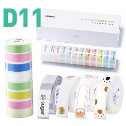 NiiMbot Mini Label Paper для D11 Принтер Печать этикетки Водонепроницаемая Антиматричная Цена Чистый Цвет Устойчивый к царапинам Стексер на Распродаже