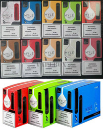 colors e cigs NZ - Newest Myle mini Disposable Vape Pen 280mAh Battery 1.2ml Pods Cartridges Pre-Filled e Cigs Vapes Portable Vaporizers 10 Colors