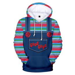 Good Guys Chucky 3D Printed lovely Cartoon Male Female Leisure Hoodies Simple Street Clothes on Sale