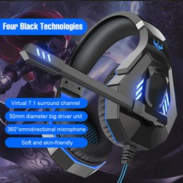 Q10 USB Computer Gaming Headset Desktop Notebook Subwoofer Headphone newest model for retail one piece