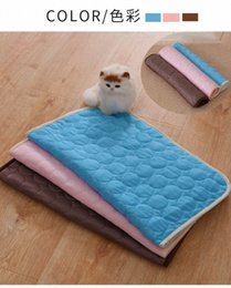 hot beds Australia - Hot Pet Dog Cat Cooling mat summer ice cool pad blankets for pet Puppy Dog Bed pads Sofa cover Tour Camping Yoga Sleeping Mats S M L X WZn7#